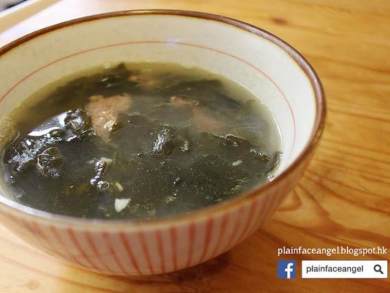 自己做。韓國人生日必喝的海帶湯 (미역국)!