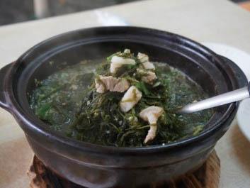 濟州平民地道菜式之豬肉海藻湯 @莎拉韓情