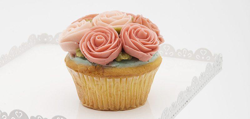 超美的花卉Cupcake!靚女韓廚首次來港獻技