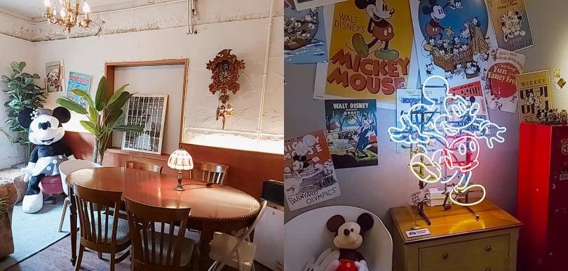 【弘大】Mickey 期間限定復古概念屋