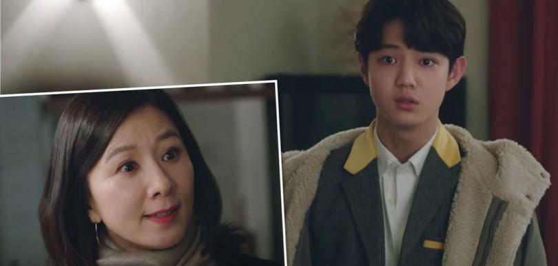 韓劇《夫妻的世界》離婚後兒子俊英心路歷程的變化