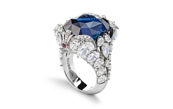 GUBELIN海馬傳說藍寶石戒指(售價待定)