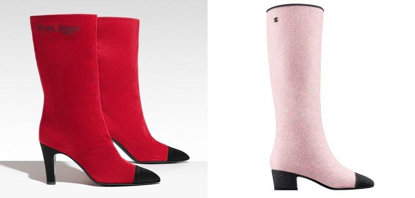 經典變奏!Chanel秋冬季推出雙色皮靴