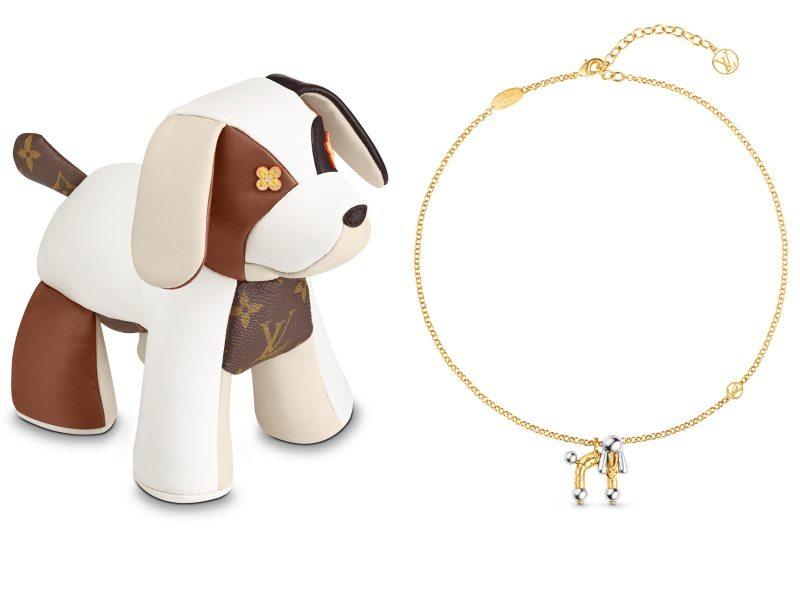 Louis Vuitton LV 狗年配飾