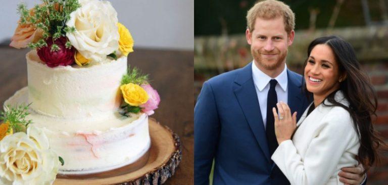 Meghan和哈里王子的結婚蛋糕