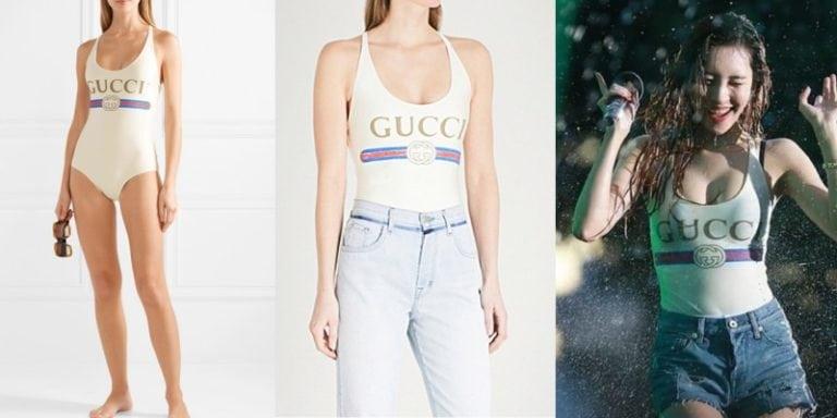 只供打卡?Gucci 3千元的泳衣竟然「不能下水」