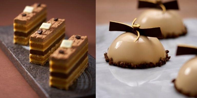 餅店Meltly Place趁秋季推出以意式咖啡為主題的蛋糕系列