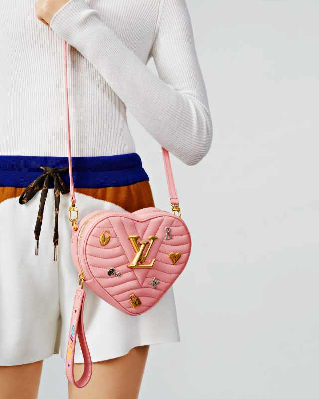 Louis Vuitton New Wave Love Lock Rose Pomettees HK$18,700