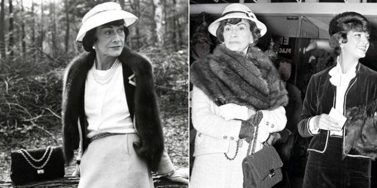 當時Coco Chanel想要設計出一個可以用肩揹著,出席cocktail party也可騰出雙手的鏈帶手袋