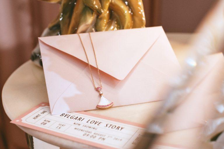 BVLGARI推出七夕限量版系列,包括兩款粉紅禮盒套裝及 Divas' Dream 七夕限量版頸鍊