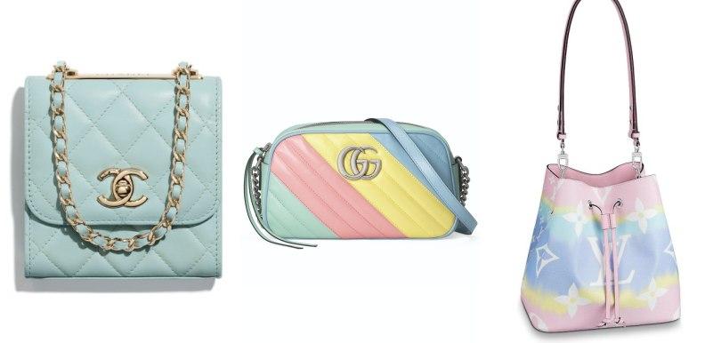 春天就是要粉色!令人心動的夢幻色系手袋