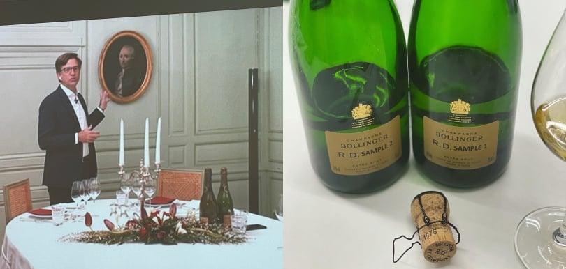 復刻版年份香檳